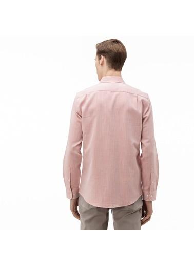 Lacoste Erkek Slim Fit Gömlek CH0017.17P Pembe